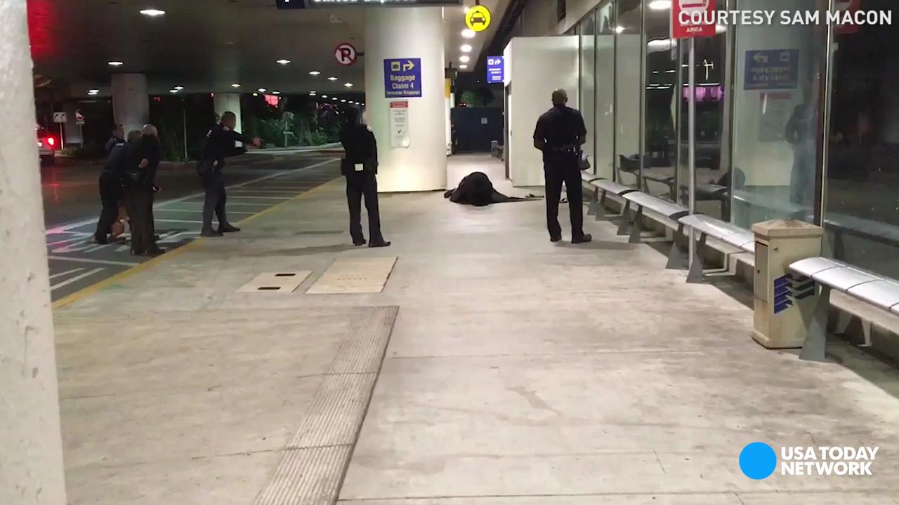 Man dressed as Zorro detained at LAX Airport