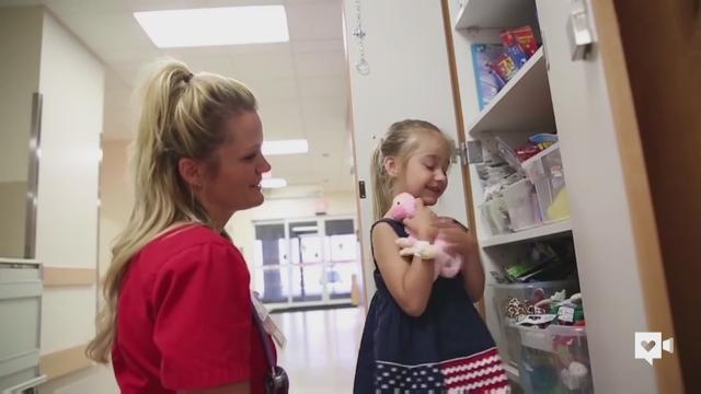 Former NFL Cheerleader becomes children's nurse