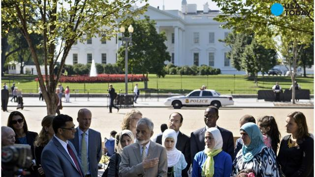 White House has met refugee admittance goal