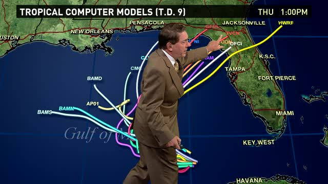 4 tropical systems take aim on the US