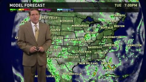 Tuesday's forecast: Tracking tropics, rain in South