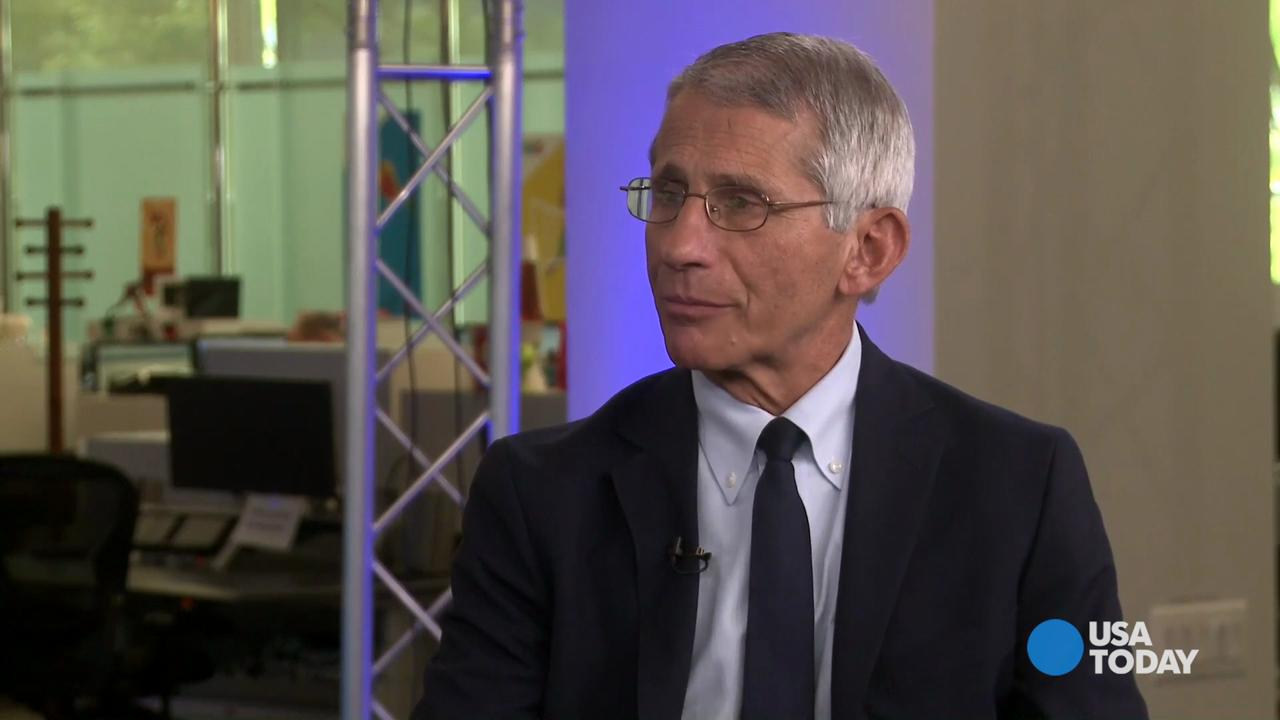 Anthony Fauci, director of the National Institute of Allergy and Infectious Diseases, discusses prospects for a Zika vaccine with USA TODAY medical reporter Liz Szabo.