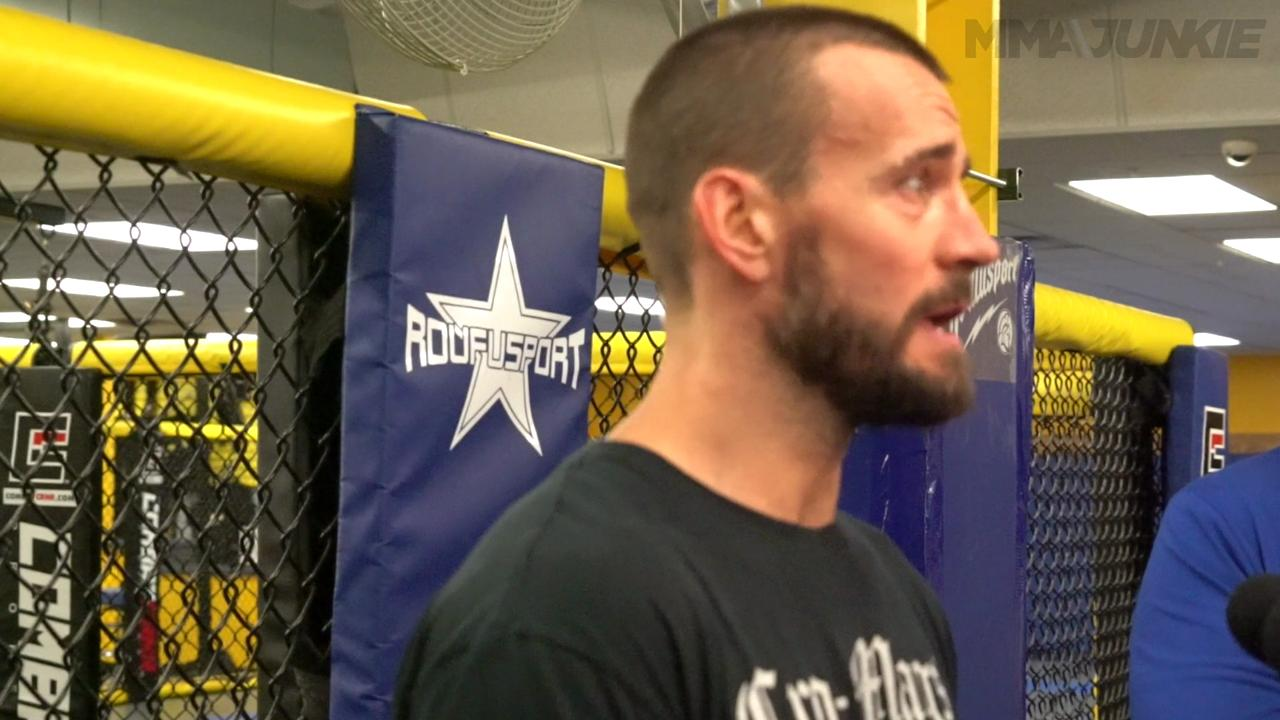 CM Punk gears up for his long-awaited debut at UFC 203