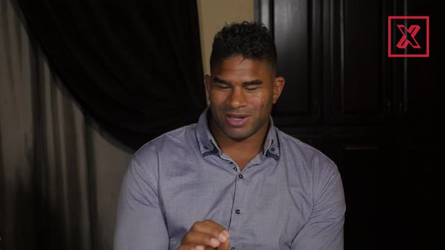 Alistair Overeem doesn't consider Fedor Emelianenko or Fabricio Werdum as the greatest heavyweight of all time