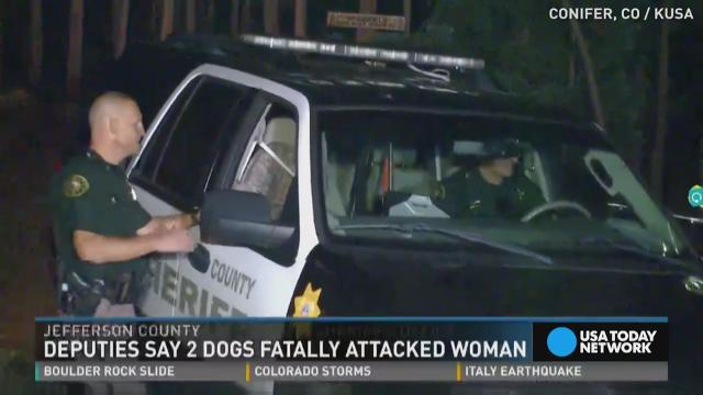 Woman killed by her own dogs
