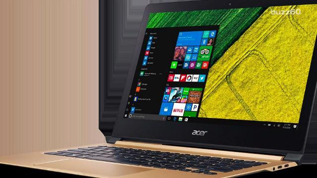 Check out the world's thinnest laptop