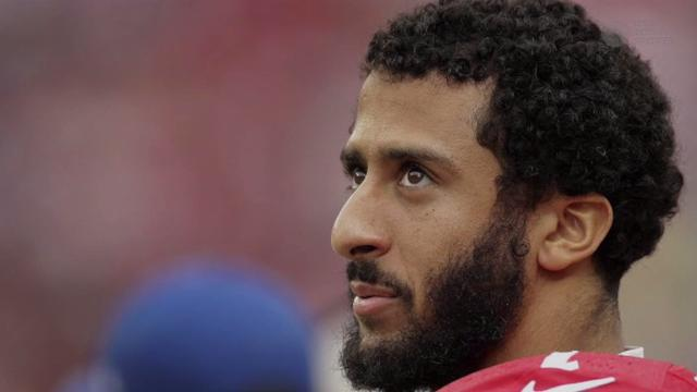 #VeteransForKaepernick trends on Twitter