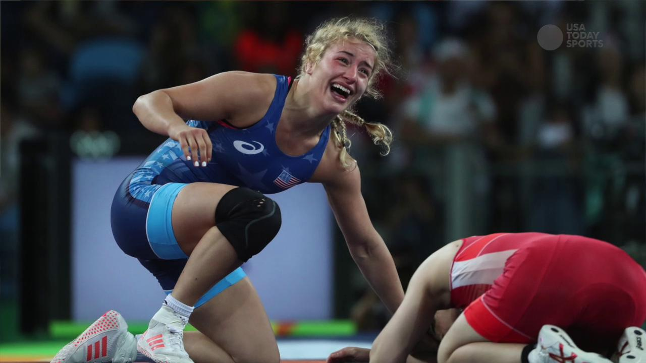 USA TODAY Sports' Roxanna Scott sits down with Olympic wrestler to discuss what she's done since winning gold in Rio.
