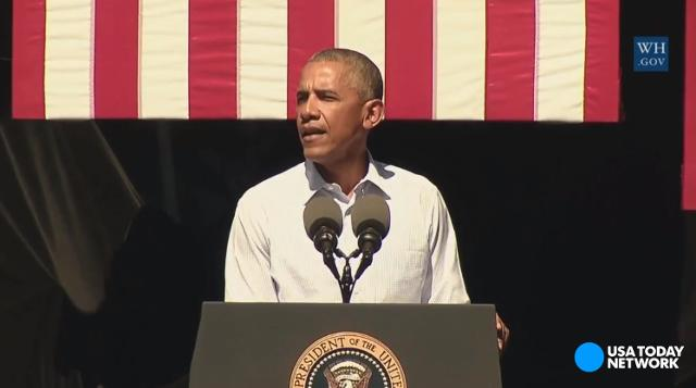 President Obama: We know climate change is man-made