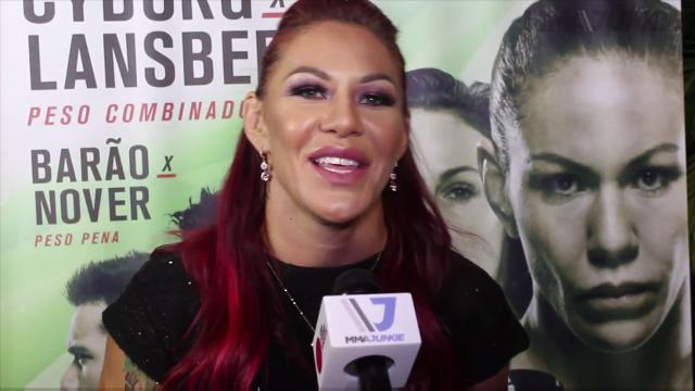 Cristiane Justino talks about Ronda Rousey and the future possibility of a bout with her.