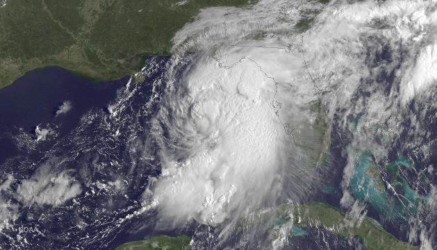 Hurricane Hermine's arrival by the numbers