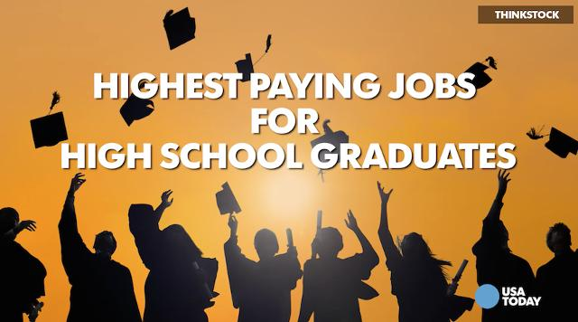jobs for high school grads with no experience