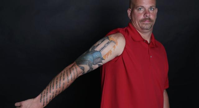 Lost colleagues and friends remembered in 9/11 tattoos