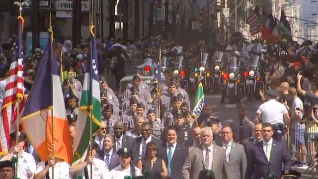 NYPD mark 9/11 anniversary with parade