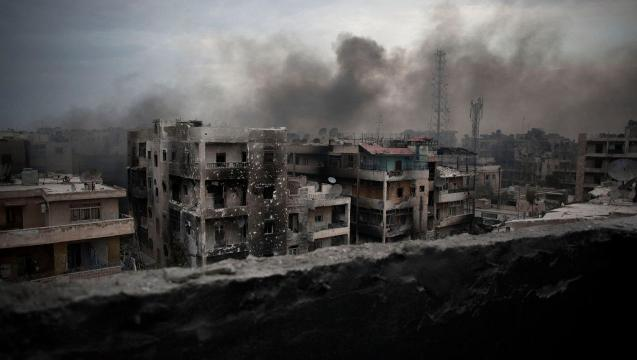 What is happening in the Syrian Civil War
