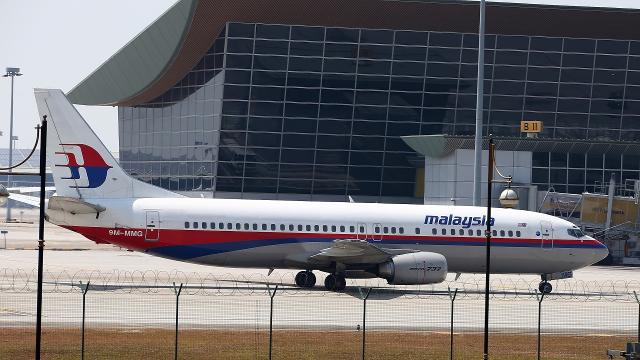 A fire may have broken out before flight MH370 crashed