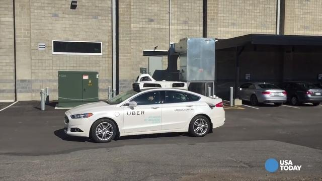 WATCH: We take Uber's self-driving car for a spin