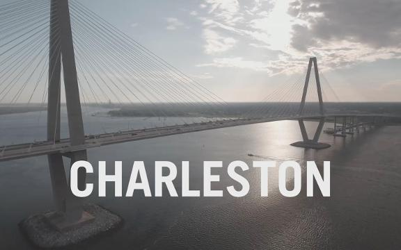 If Charleston wasn't on your bucket list before, it will be after taking in these stunning drone views of one of South Carolina's most beautiful cities.