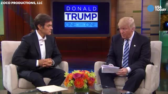 What we learned from Trump's appearance on The Dr. Oz Show