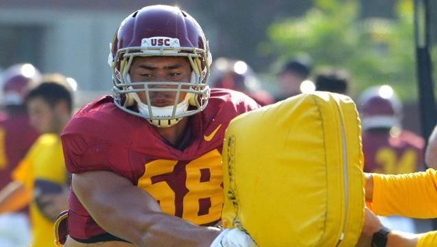USC football player Osa Masina charged with rape in Utah