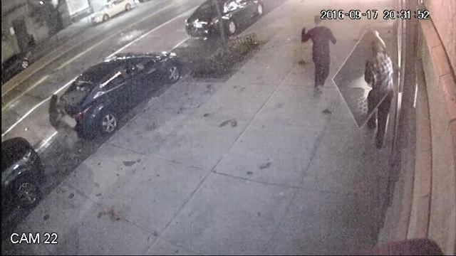 Raw: Surveillance shows moment of NYC explosion