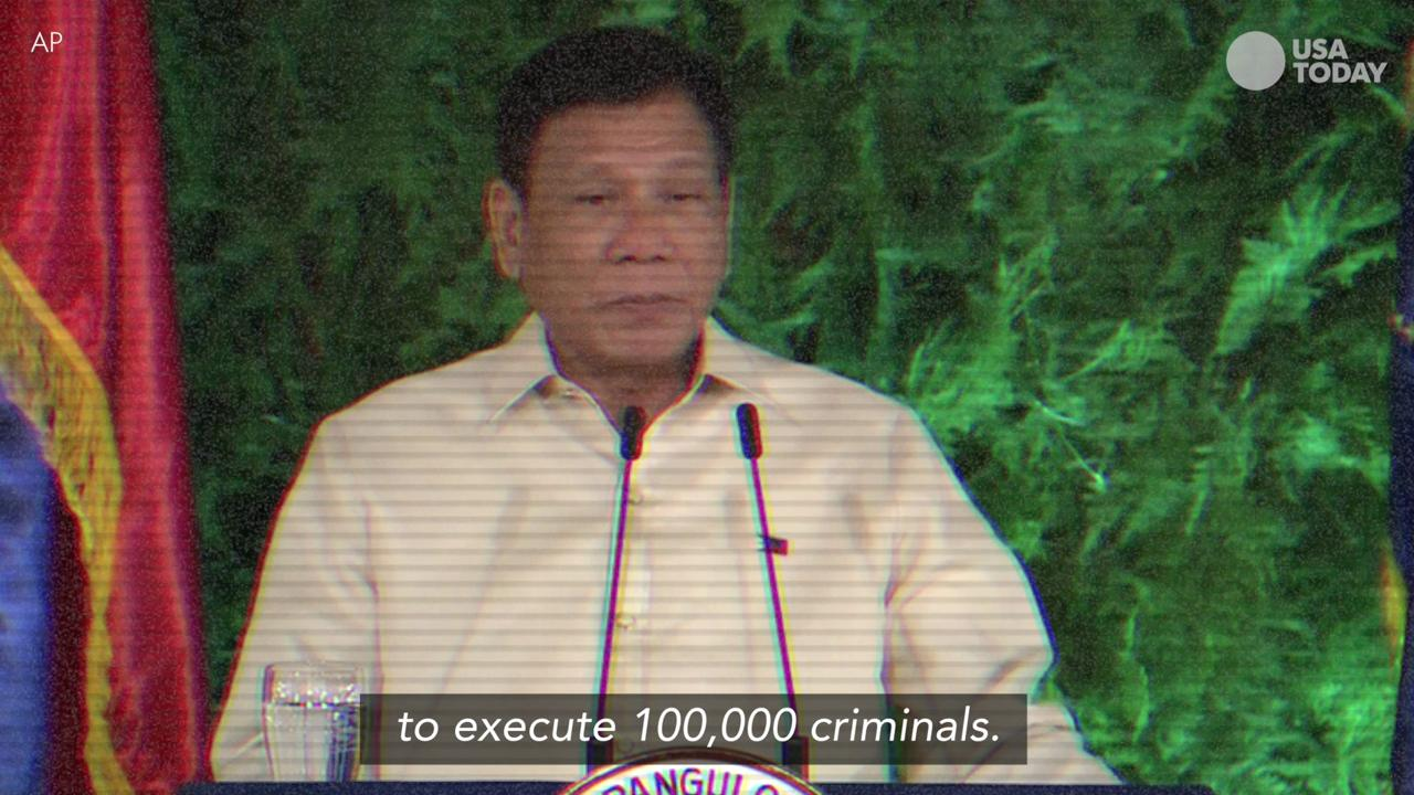 President Rodrigo Duterte has built a reputation on colorful language and unorthodox strategies for fighting crime and drugs in the Philippines.
