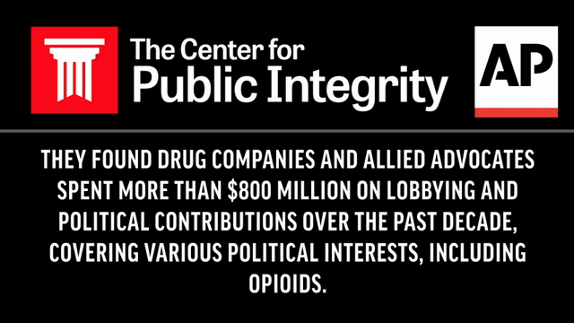 Politics of pain: Lobbyists fought opioid limits