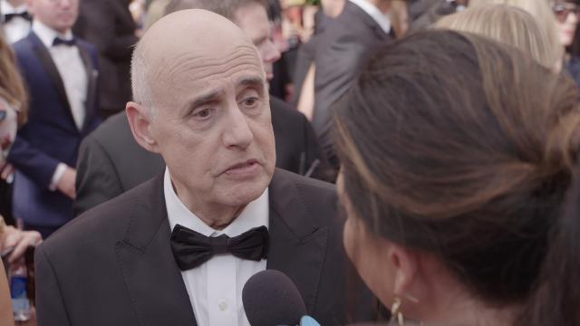 On the Emmy's red carpet, 'Transparent' star Jeffrey Tambor and others tell USA TODAY what they think is the secret to their success.