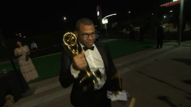Stars show off Emmys at Governors Ball