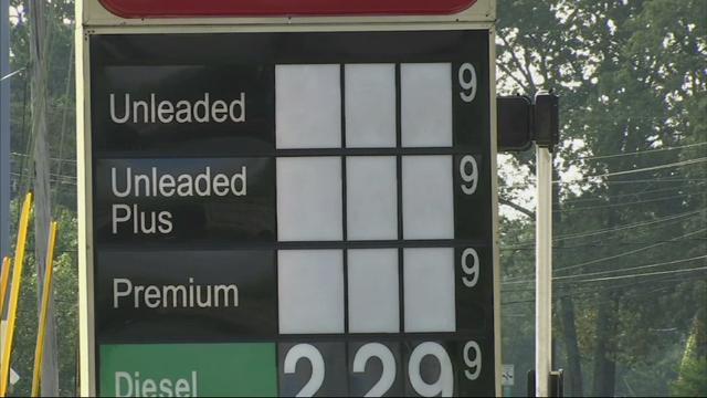 Pipeline spill means spiking gas prices in South