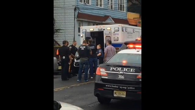 Video shows suspect being loaded into ambulance