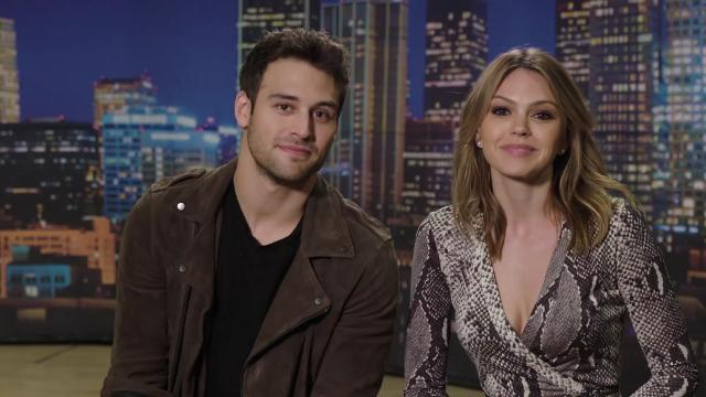 Celeb Pick 'Em with Ryan Guzman and Aimee Teegarden