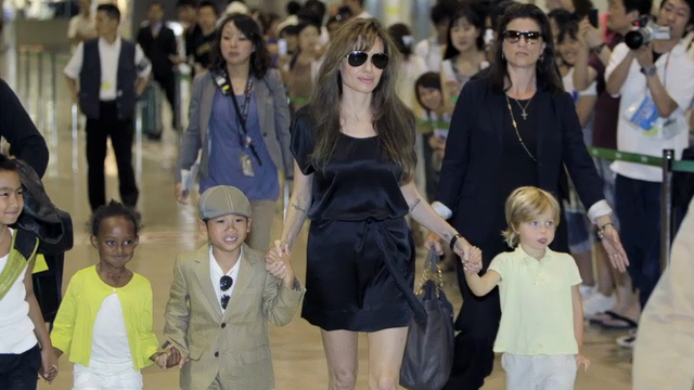 Brad Pitt asks press to leave his kids alone after word Angelina Jolie Pitt has filed for divorce