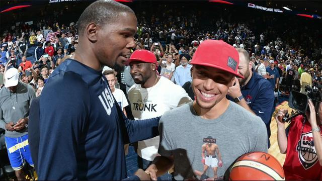 Steph Curry says adding Kevin Durant was 'no-brainer'
