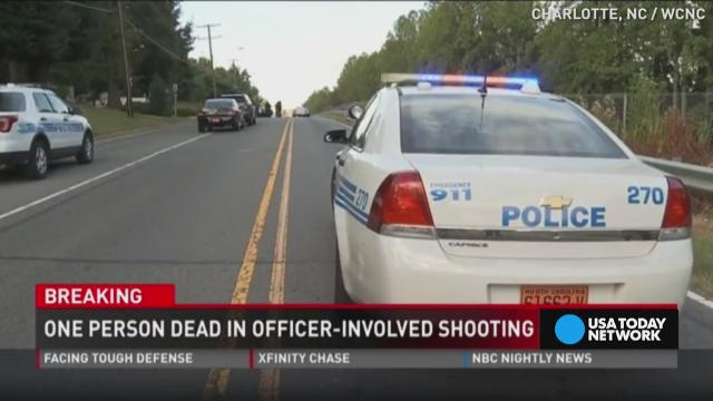 Charlotte police say officers fatally shoot person with gun