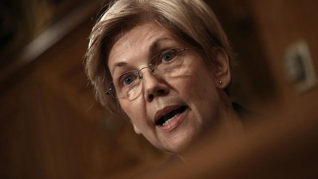 Sen. Elizabeth Warren grilled Wells Fargo CEO John Stumpf over the culture that led to employees illegally inflating their sales numbers.  Video provided by Newsy