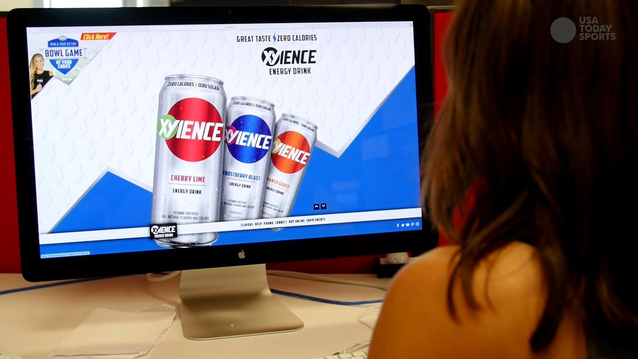 """An energy drink brand called """"Xyience"""" recently launched a marketing campaign in college sports media. But things suddenly changed last week after questions from USA TODAY Sports asked how such a drink squared with NCAA rules."""