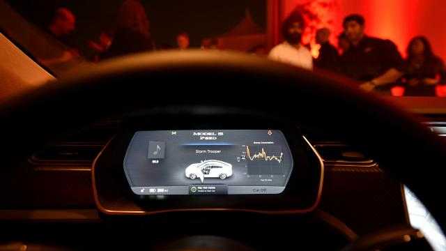 Hackers demonstrated they can take over a Tesla from miles away if it connects to a malicious Wi-Fi hotspot.  Video provided by Newsy