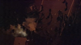 Raw: Protests in Charlotte after police shooting