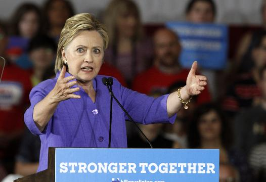 Democrat Hillary Clinton and her allies cementedtheir financial advantage over Republican Donald Trump last month as thebattle for the White House intensifies,