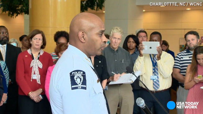 Charlotte police: 'It's time to change the narrative'