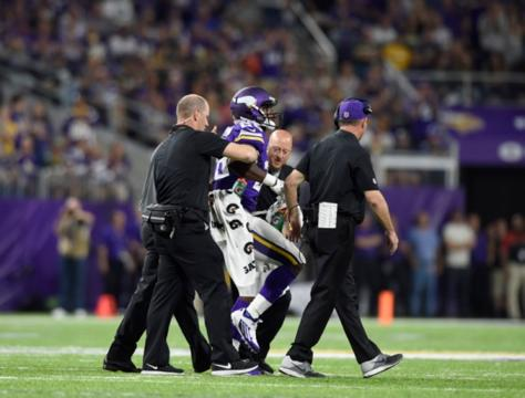 Minnesota running back is scheduled to have surgery Thursday morning to repair his torn meniscus.