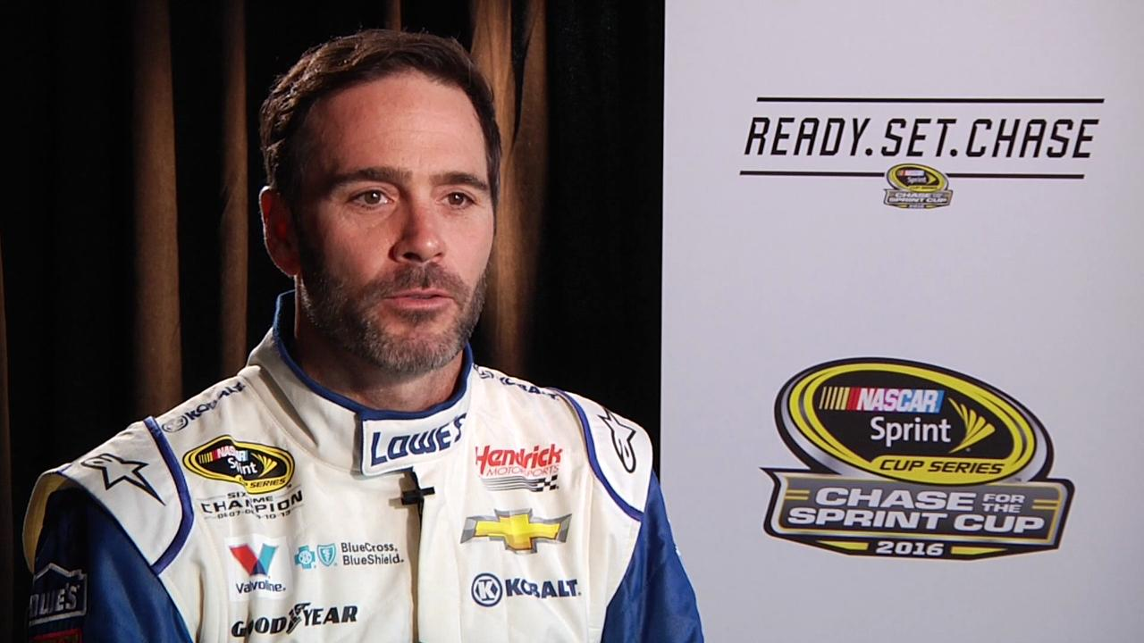 Jimmie Johnson talks about his love of MMA and who his favorite fighters are.