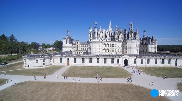 The Loire Valley is home to hundreds of chateaux. Here are four of the most impressive French estates.