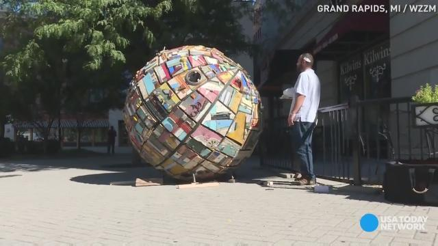 Would you live inside this wooden sphere?