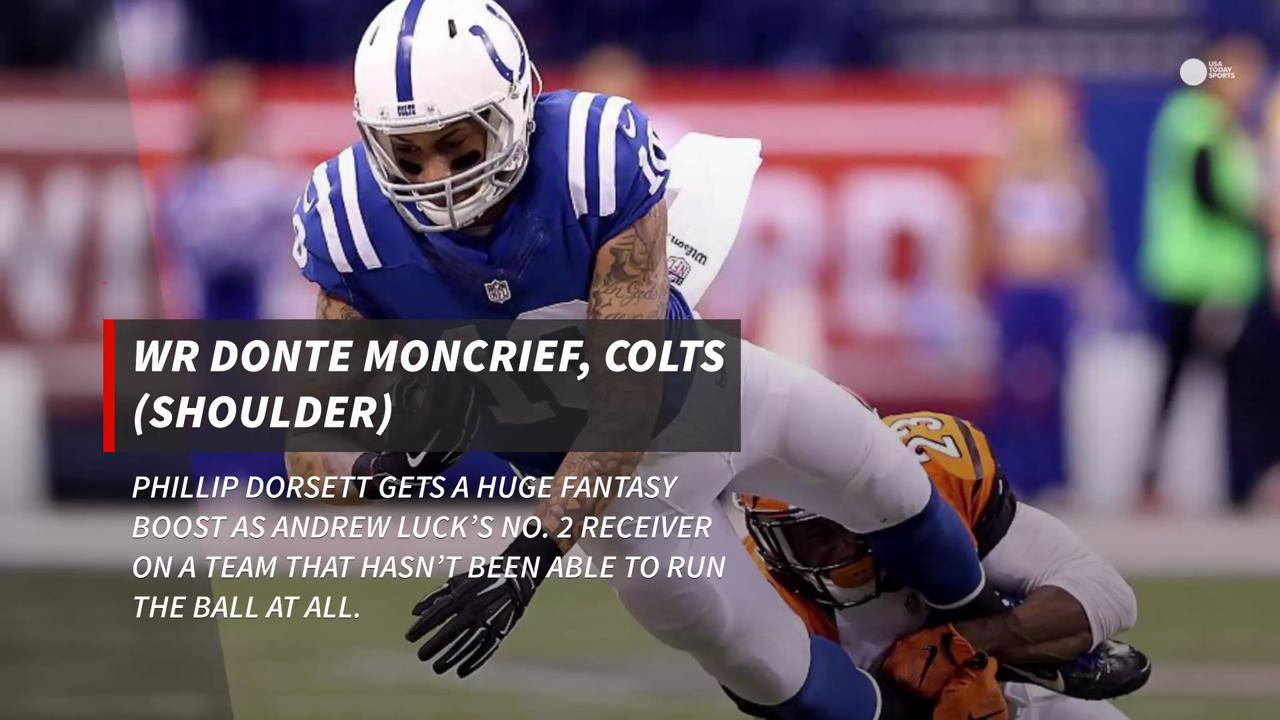 Who is out and who to pick up on your fantasy team.