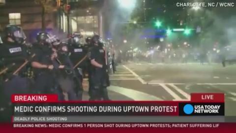 Officials: One person killed during Charlotte protest