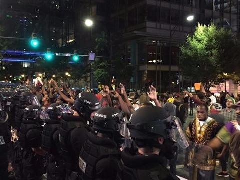 Charlotte protest leaves 1 dead, multiple officers injured