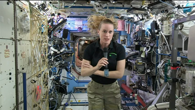 NASA astronaut Kate Rubins says people often forget that space flight is dangerous. The current resident of the International Space Station spoke in response to an Associated Press question about the recent explosion of a SpaceX rocket on the launch pad. (Sept. 22)