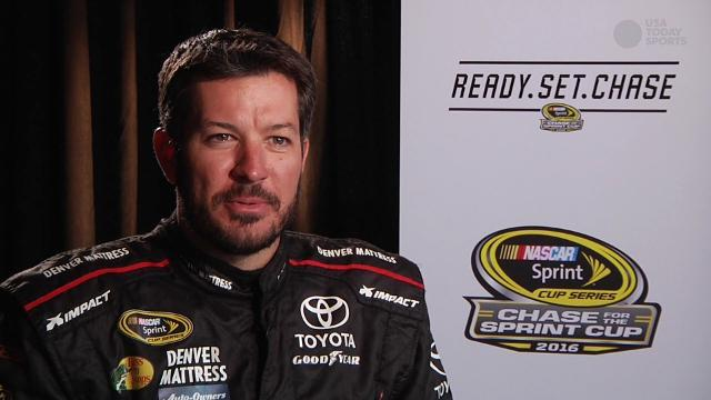 Martin Truex Jr. is longtime Eagles fan